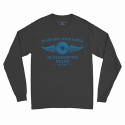 Bluescentric Blues Soul Rock n Roll Long Sleeve T-Shirt