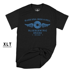Bluescentric Blues Soul Rock n Roll XLT  T-Shirt - Men's Big & Tall