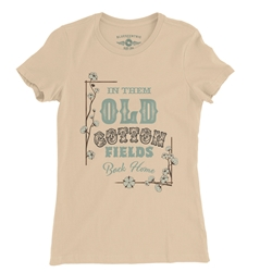 Creedence Clearwater Cotton Fields Ladies T Shirt