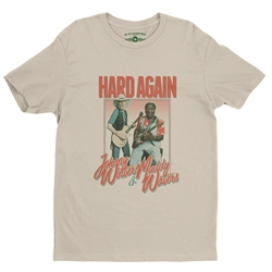 Muddy Waters & Johnny Winter Hard Again T-Shirt - Lightweight Vintage Style