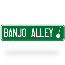Banjo Alley Street Sign
