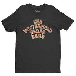 Flowery Butterfield Blues Band T-Shirt - Lightweight Vintage Style