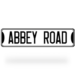 Abbey Road Street Sign