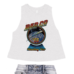 Bad Company Shooting Star Racerback Crop Top - Women's