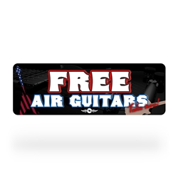 Free Air Guitar Sign