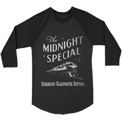 Creedence Clearwater Revival Midnight Special Baseball T-Shirt