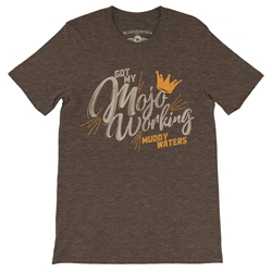 Muddy Waters Mojo Working T-Shirt - Lightweight Vintage Style