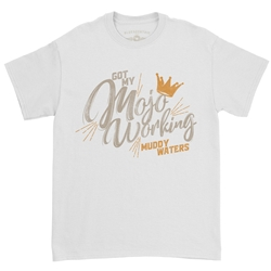 Muddy Waters Mojo Working T-Shirt - Classic Heavy Cotton