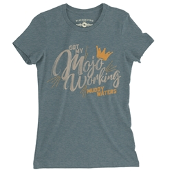 Muddy Waters Mojo Working Ladies T Shirt