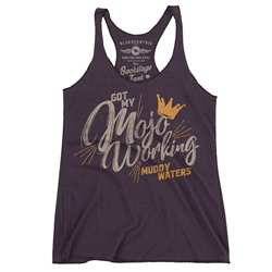 Muddy Waters Mojo Working Racerback Tank - Women's