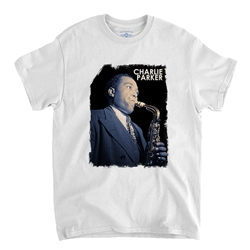 Colorized Charlie Parker T-Shirt - Classic Heavy Cotton