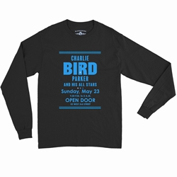 "Charlie ""Bird"" Parker Concert Long Sleeve T-Shirt"