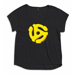 45 Record Adapter Ladies Dreamer T Shirt