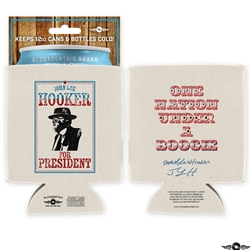 John Lee Hooker for President 12oz Can Koozie