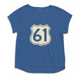 Highway 61 Ladies Dreamer T Shirt