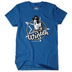 Johnny Winter Classic T Shirt