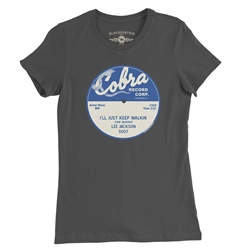 Cobra Vinyl Record Ladies Tee