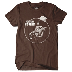 John Lee Hooker Circle T-Shirt - Classic Heavy Cotton
