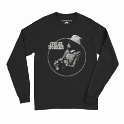 John Lee Hooker Circle Long Sleeve T-Shirt