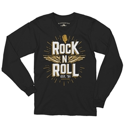 Rock n Roll Music Long Sleeve T Shirt