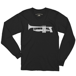 Gun Trumpet Music Long Sleeve T Shirt