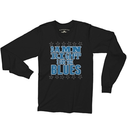 Damn Right I've Got The Blues Music Long Sleeve T Shirt