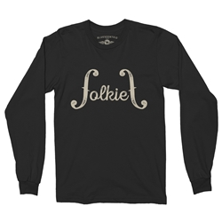 Folkie Music Long Sleeve T Shirt