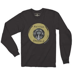 Rhythm and Trouble Guitar Long Sleeve T Shirt