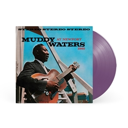 Muddy Waters - At Newport 1960 (New, Ltd. Edition Purple Colored 180 Gram Vinyl, Import)