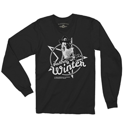 Officially Licensed Johnny Winter Long Sleeve T Shirt