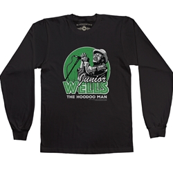 Officially Licensed Junior Wells Long Sleeve T Shirt
