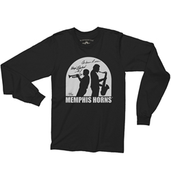 Officially Licensed Memphis Horns Long Sleeve T Shirt