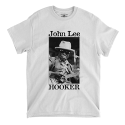 John Lee Hooker Santa Cruz T-Shirt - Classic Heavy Cotton