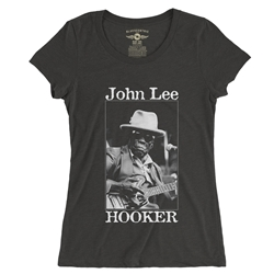 John Lee Hooker Santa Cruz Ladies T Shirt - Relaxed Fit