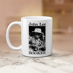 John Lee Hooker Santa Cruz Coffee Mug