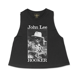 John Lee Hooker Santa Cruz Racerback Crop Top - Women's