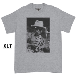 XLT John Lee Hooker Black & White Photo T-Shirt - Men's Big & Tall