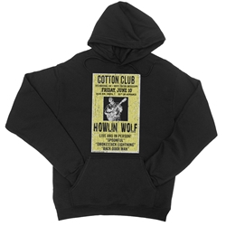 Officially Licensed Howlin' Wolf Concert Poster Pullover