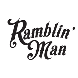 Ramblin Man Car, Glass or Guitar Case Vinyl Decal