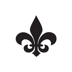 Fleur De Lis Car, Glass or Guitar Case Vinyl Decal
