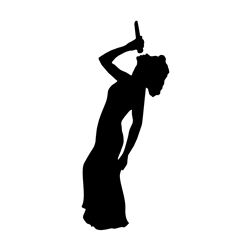 Jazz Singer Car, Glass or Guitar Case Vinyl Decal