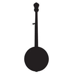 Banjo Wall Decal