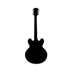 "Gibson 355 Guitar ""Lucille"" Wall Decal"