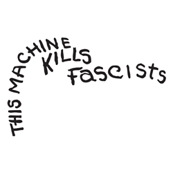 This Machine Kills Facists Wall Decal