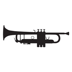 Trumpet Wall Decal