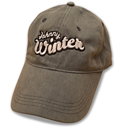Officially Licensed Johnny Winter Unstructured Hat