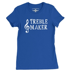 Treblemaker Ladies Music T Shirt