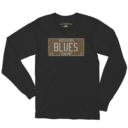 Mississippi Blues Music Long Sleeve T Shirt