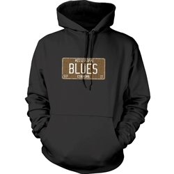 Mississippi Blues Music Pullover