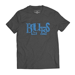 Blues Music T Shirt
